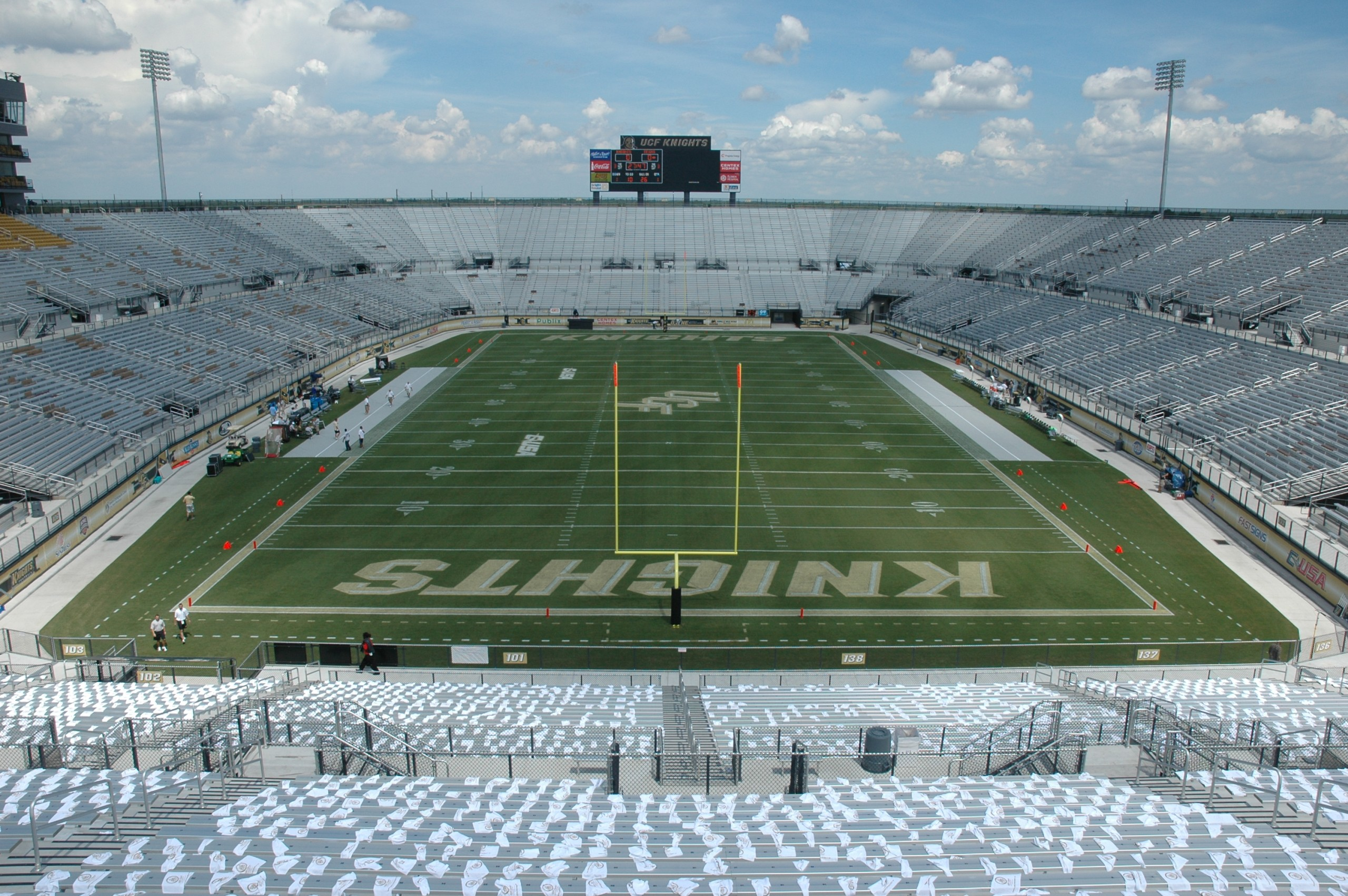 Ucf Football Stadium Entertainment Projects Projects Tri City